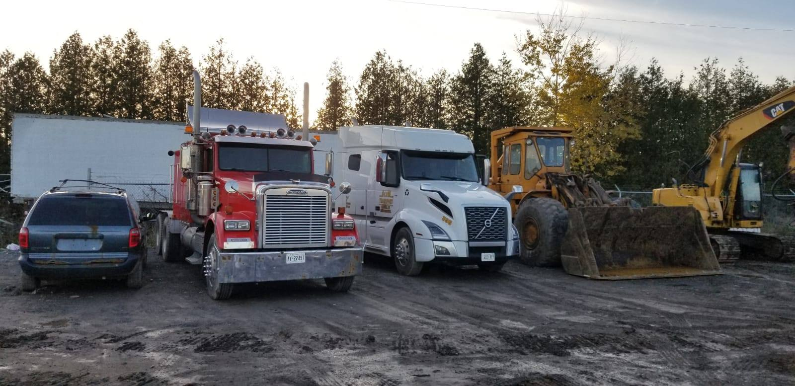 big scrap metal handling fleet in Ottawa